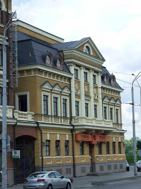 2008 р. Фрагмент фасаду по…