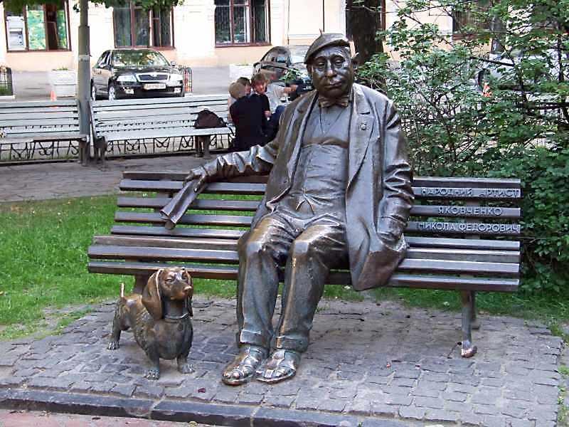 Пам'ятник М.Ф.Яковченку