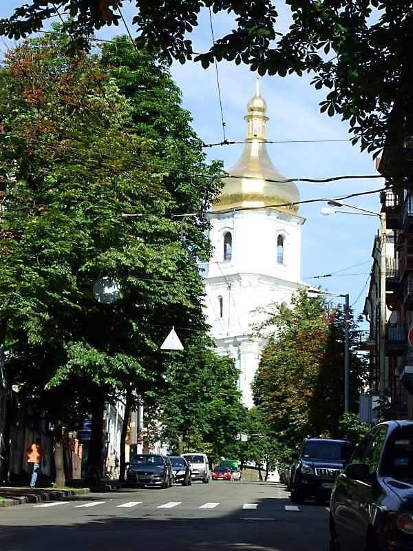 2008 р. Дзвіниця Софійського собору у перспективі вул.Софійської