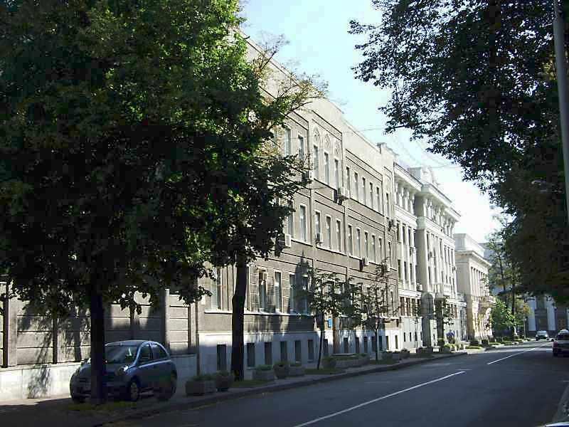 2008 р. Перспектива від вул.Інститутської в бік вул.Грушевського