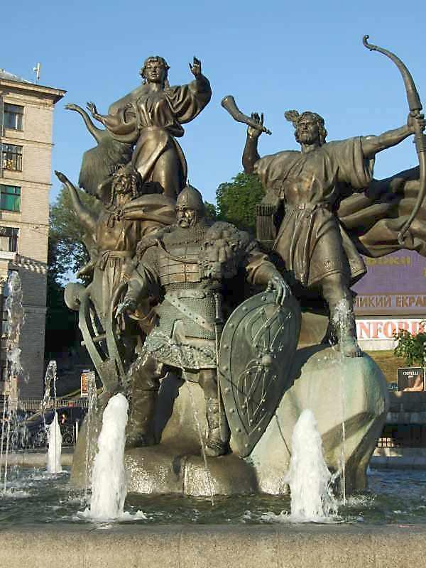 Пам'ятник засновникам Києва