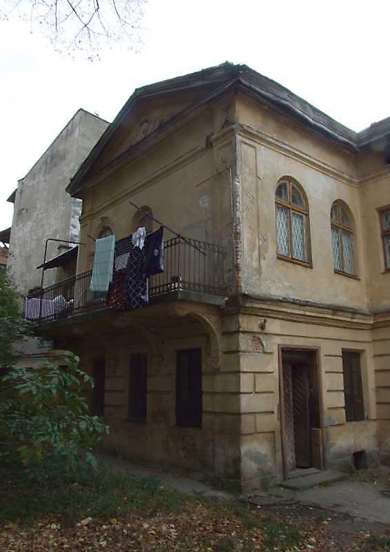 2008 р. Фрагмент головного фасаду