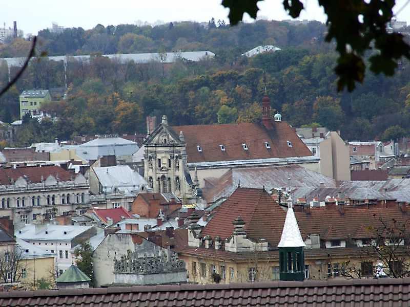 2008 р. Загальний вигляд з північного сходу, з Високого замку