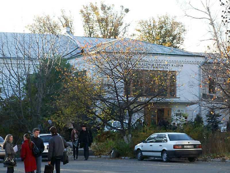 2008 р. Центральна частина східного фасаду. Вигляд зі сходу