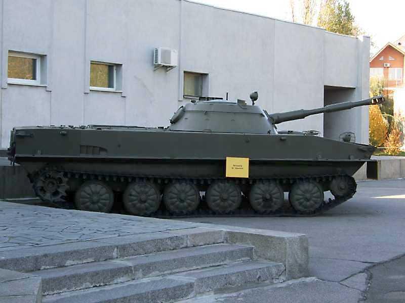Плавучий танк ПТ-76 зразка 1951 р.
