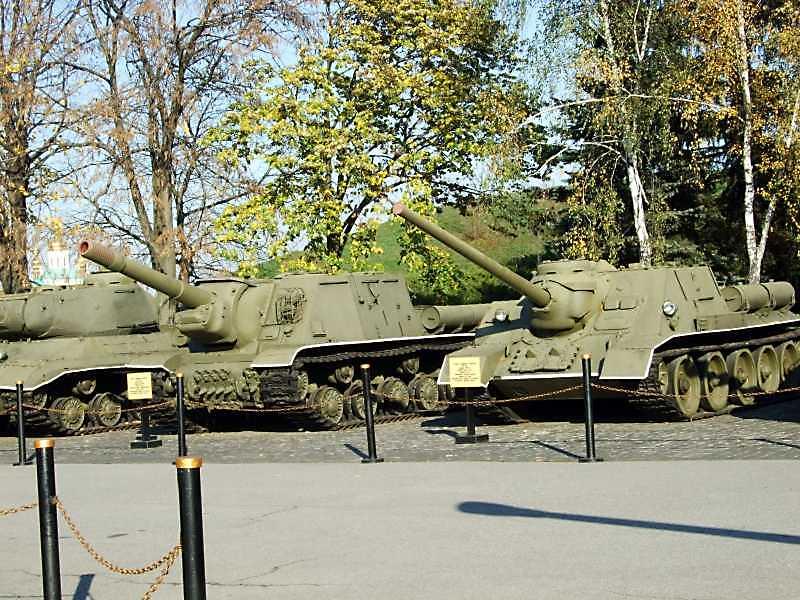 2008 р. ЙСУ-152, СУ-100