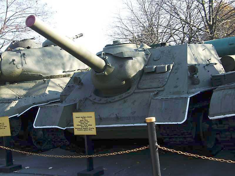 Середня самохідна установка СУ-122 зразка 1943 р.