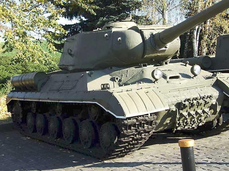 Важкий танк ЙС-1 зразка 1943 р.