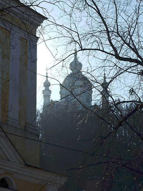 2008 р. Загальний вигляд із садиби Покровської церкви