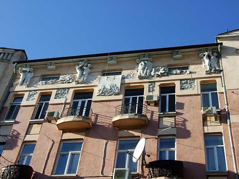2008 р. 4-6-й поверхи головного фасаду