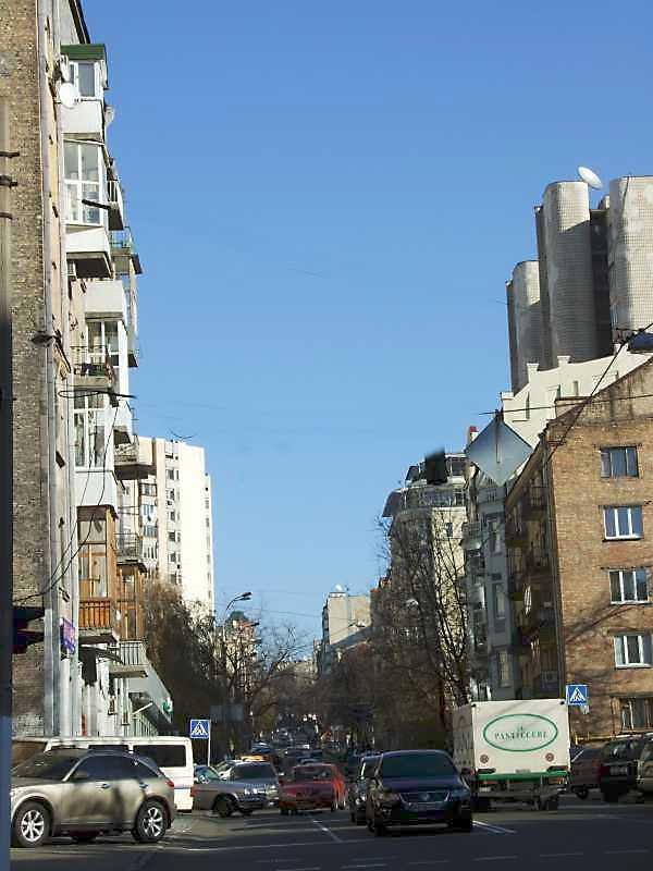 2008 р. Перспектива віл вул. Гоголівської в бік вул. М.Коцюбинського