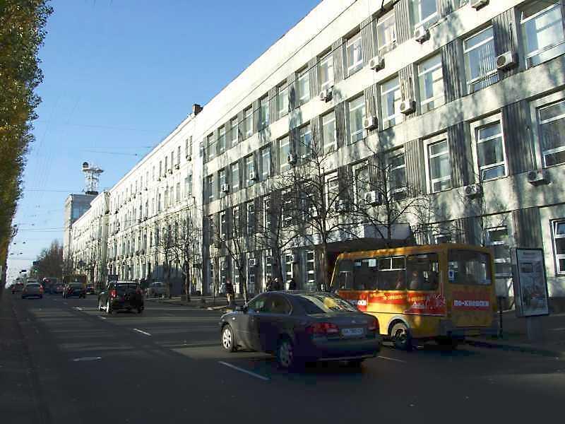 2008 р. Перспектива від вул. Володимирської в бік вул. Леонтовича