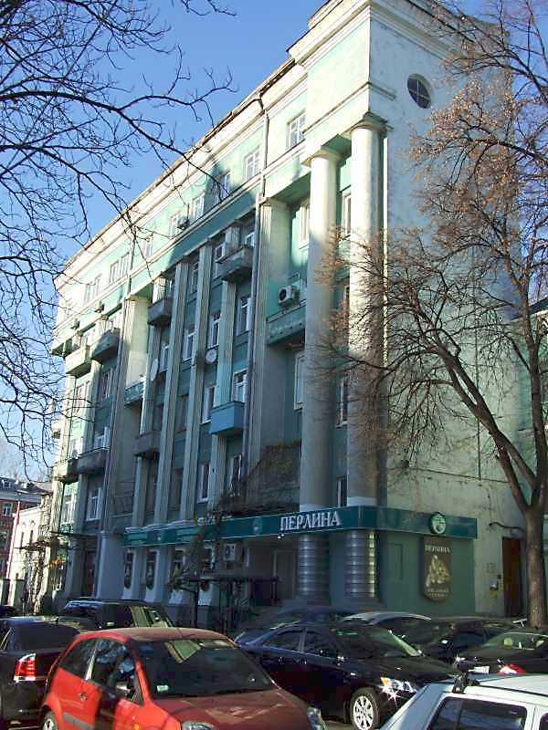 2008 р. Загальний вигляд з боку вул. Леонтовича