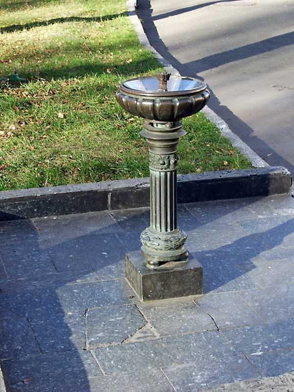 2008 р. Фонтанчик для питної води