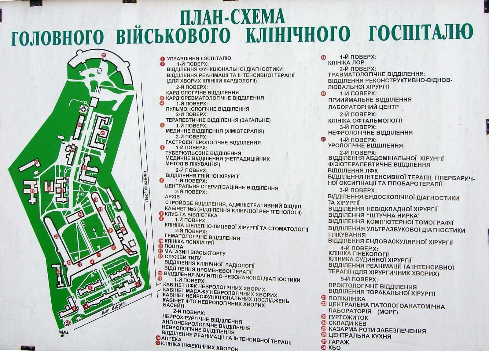2009 р. Генеральний план