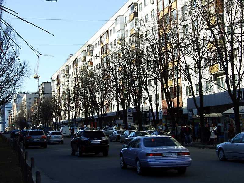 2009 р. Перспектива непарного боку від вул. Кутузова в бік вул. Басейної