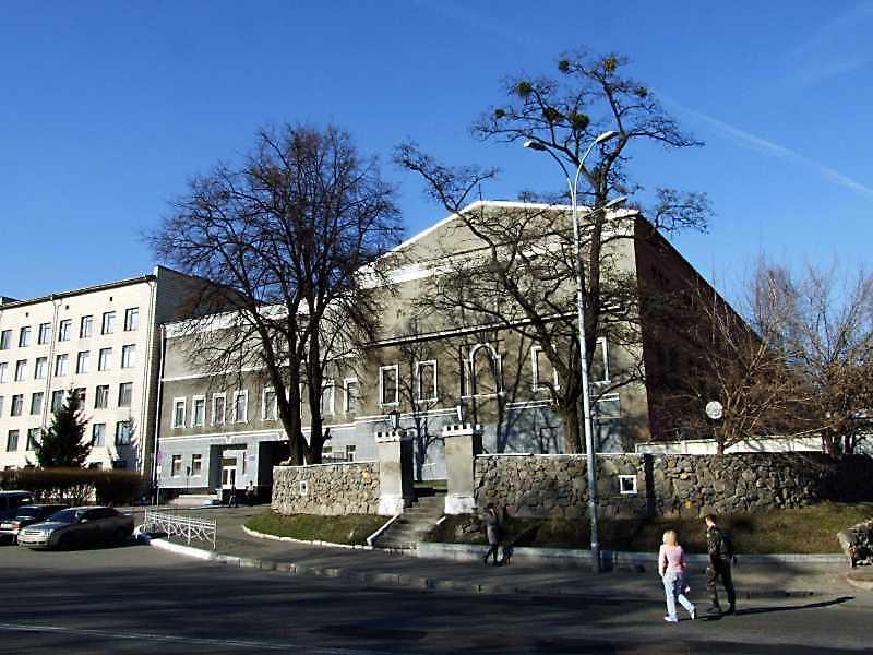 2009 р. Торцевий фасад. Вигляд з південного заходу