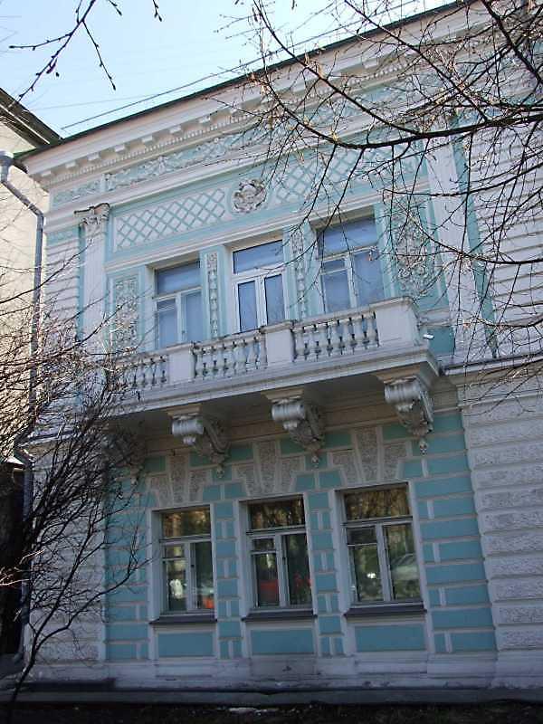 2009 р. Фрагмент фасаду по вул. Терещенківській