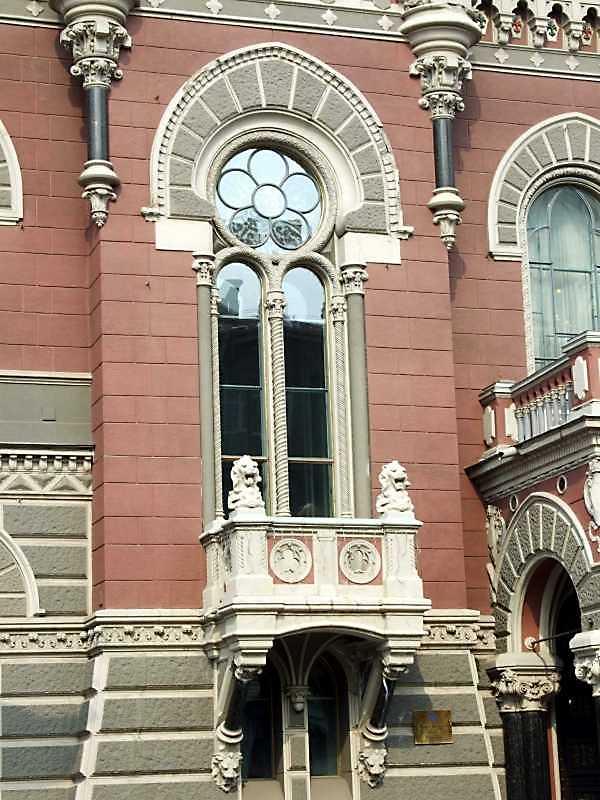 Вікно 2-го поверху з балконом