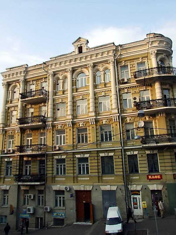 Житловий будинок (№ 7 / Заньковецької, 10)