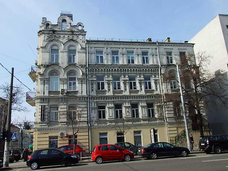 2009 р. Фасад по вул. Саксаганського