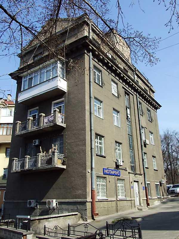 Житловий будинок (№ 25 / Паньківська, 2)