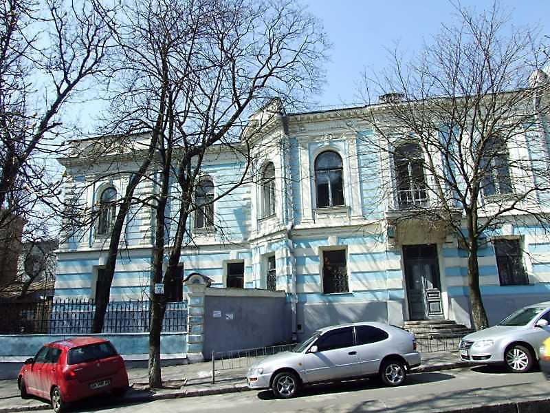2009 р. Фасад по вул. Антоновича. Ліва…