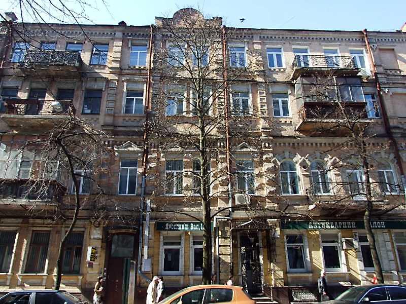 2009 р. Фасад по Ярославовому Валу