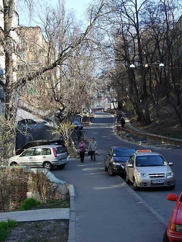 2009 р. Перспектива від будинку № 8а в бік Ярославового Валу