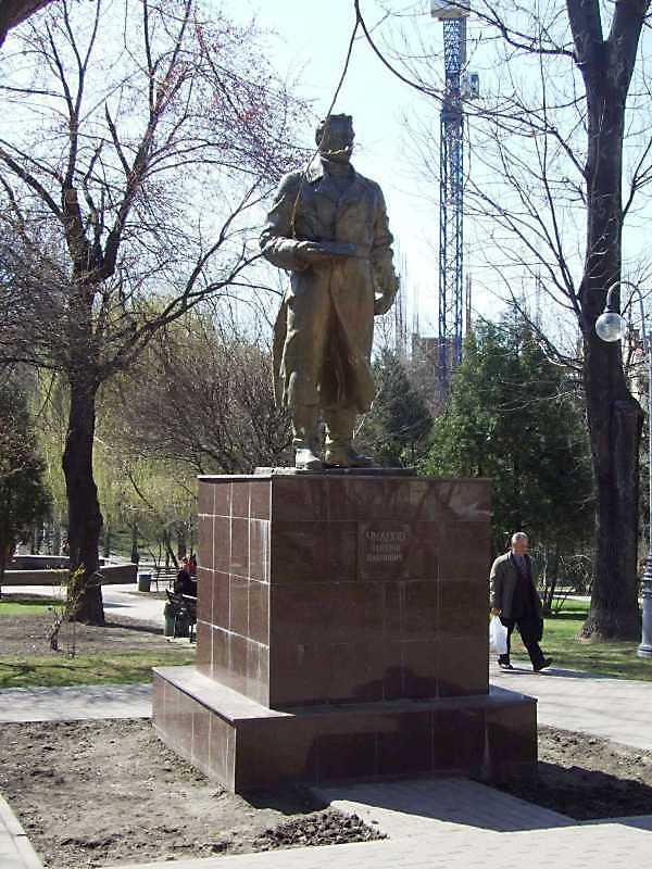 Пам'ятник В.П.Чкалову