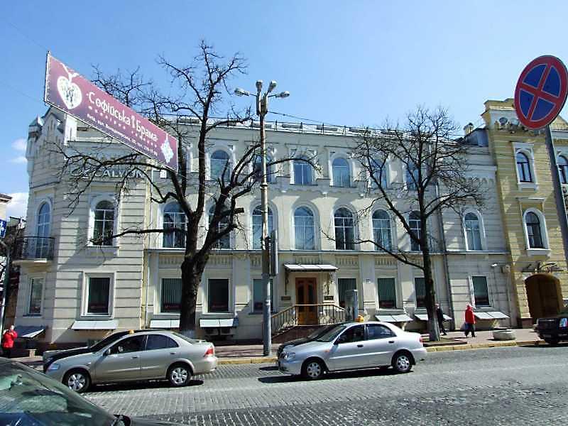 2009 р. Фасад по вул.Володимирській