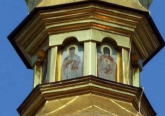 Ікони в ліхтарі