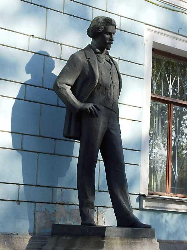 Пам'ятник І.Ю.Репіну (№ 9)