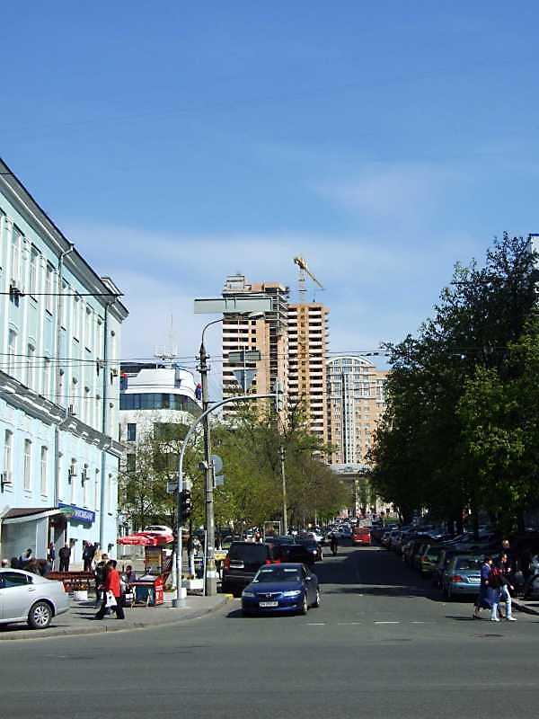 2009 р. Перспектива від вул. Вел.…