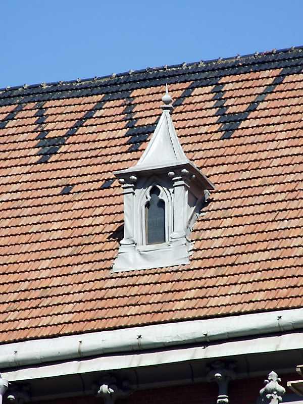 Слухове вікно на даху