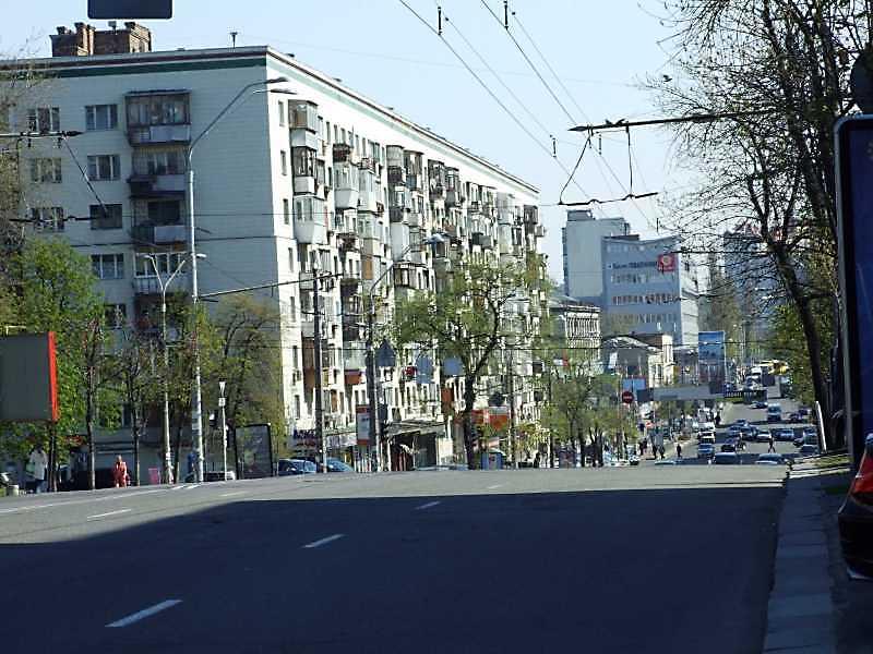 2009 р. Перспектива від вул. Ковпака в…