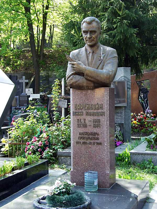 Могила Баренбойма І.Ю. (1910 – 1984)