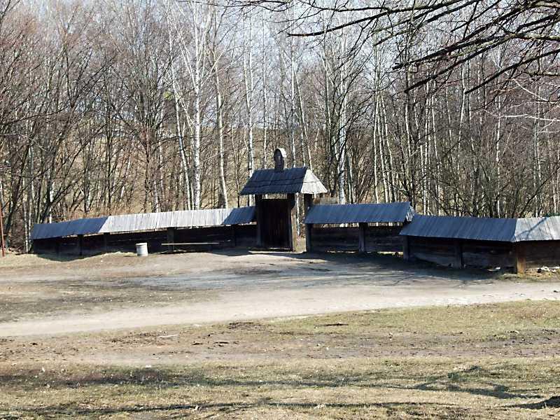 2011 р. Західний бік огорожі з брамою. Вигляд з південного заходу