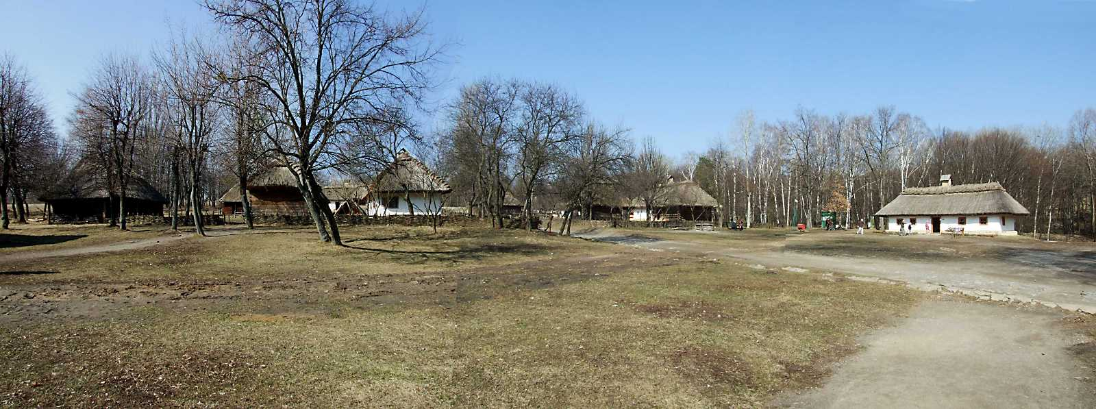 2011 р. Панорама площі села (садиби 6,…