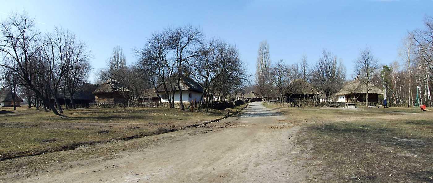 2011 р. Панорама садиб 6 та 5 з перспективою вулиці