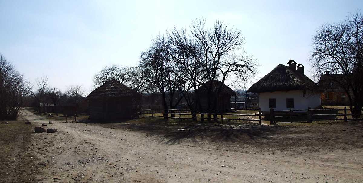 2011 р. Панорама вулиці, кузні 4, комори 3, садиби 2