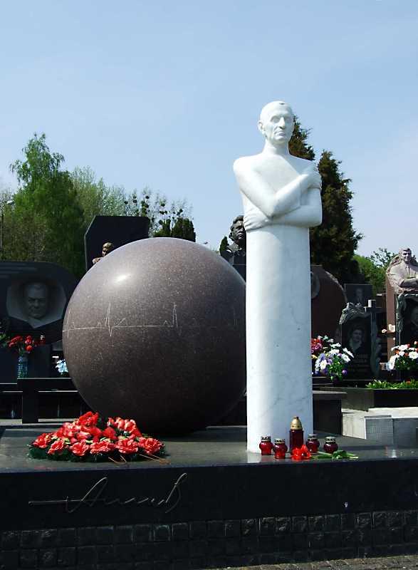 Могила Амосова М.М. (1919 – 2002)