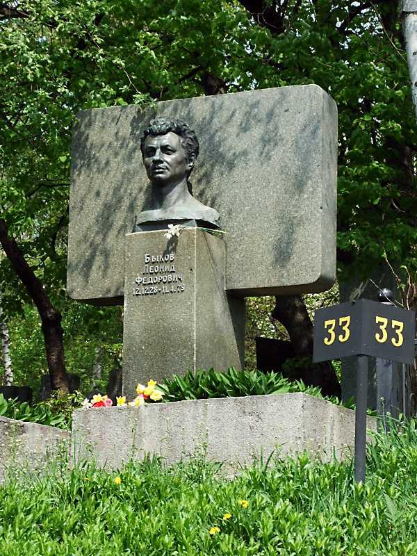 Могила Бикова Л.Ф. (1928 – 1979)