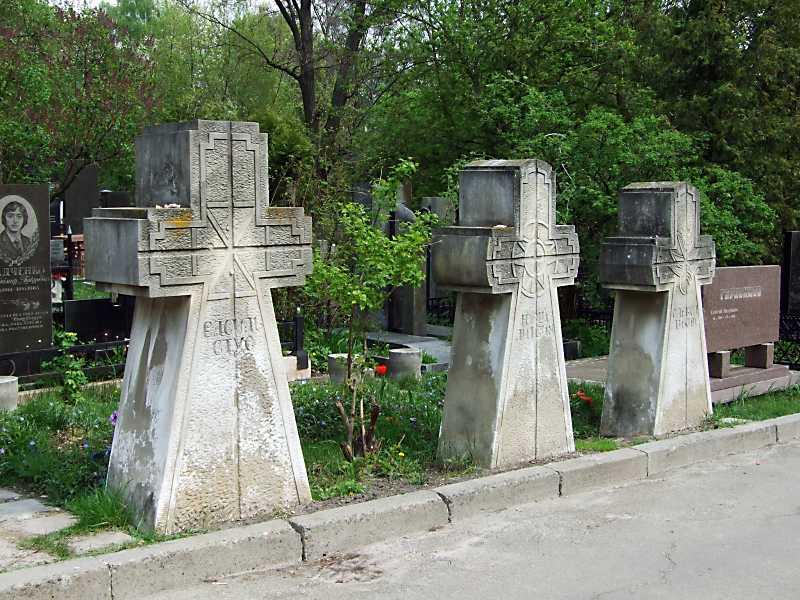 2011 р. Могили В.Стуса, Ю.Литвина, О.Тихого