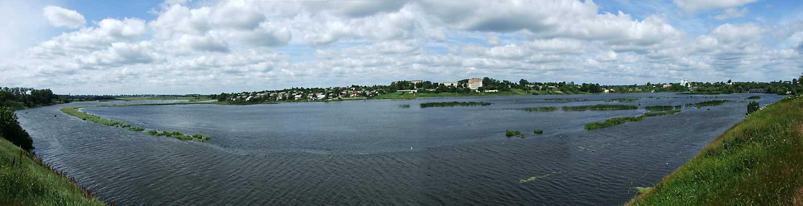 2011 р. Панорама ставу на Горині зі сходу