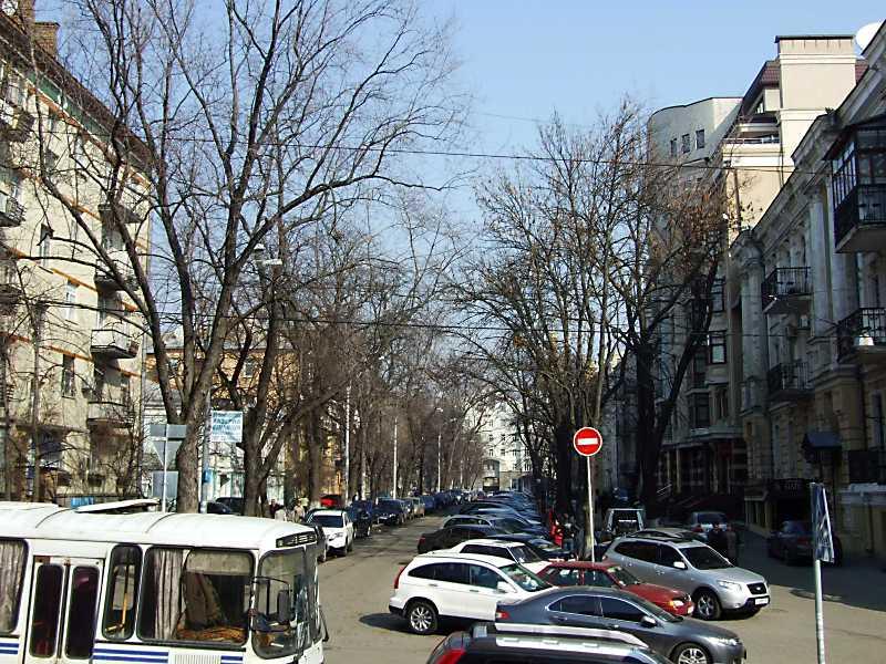 2012 р. Перспектива вулиці від Золотих…