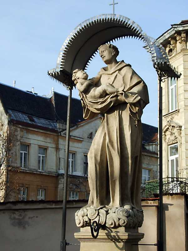 Скульптура св. Христофора