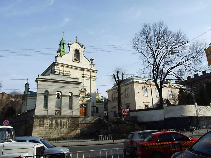 2012 р. Костел св.Антонія та будинок причту