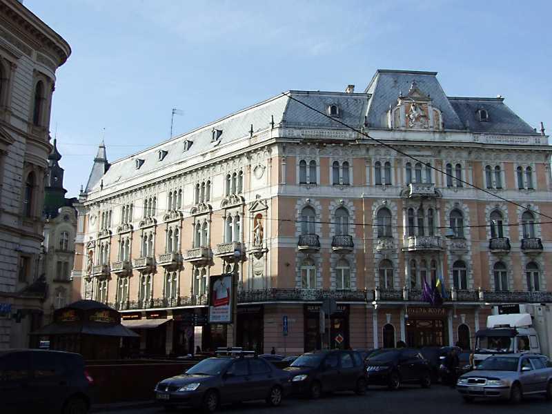 Отель во Львове (1876 – 1915 гг.) -…