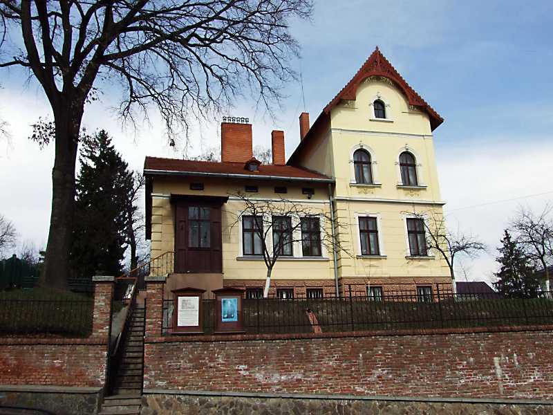 Вилла Ивана Франко во Львове (ул. И. Франко, 152), в которой он с семьей жил в 1902 – 1916 годах.